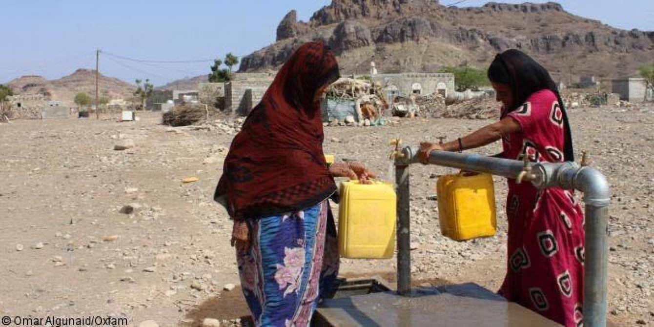 أوكسفام  تدعو إلى وقف إطلاق النار في اليمن  للسماح باستجابة إنسانية اوسع