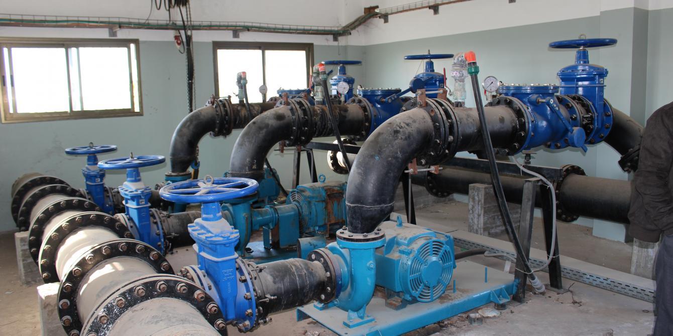 تأخير خطير في أدخال المواد اللازمة لاصلاح ونطوير البنية التحتية