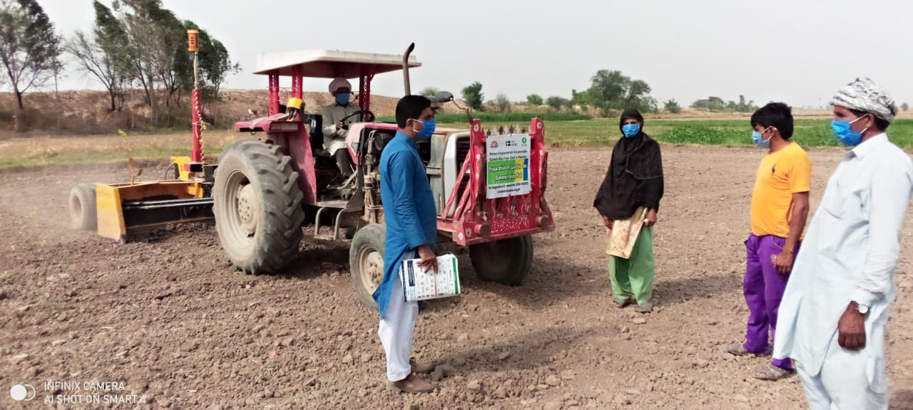 Farming techniques training led by private sector partner