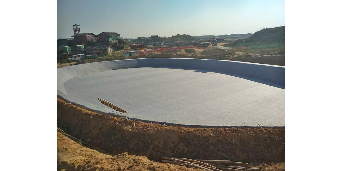 Oxfam in Asia - Press Release - Construction of biggest-ever waste treatment plant in a refugee camp