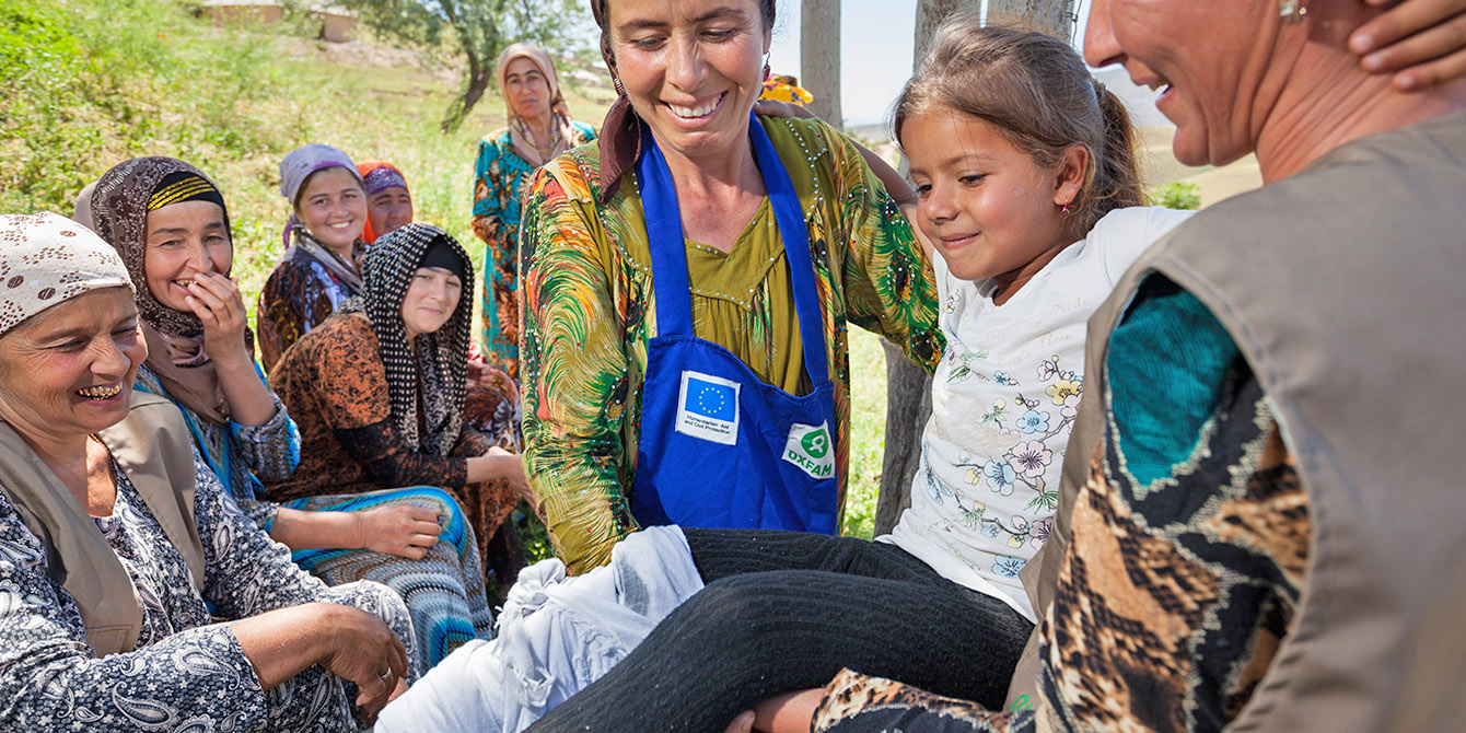 Oxfam in Asia - Tajikistan - Disaster Risk Reduction Management