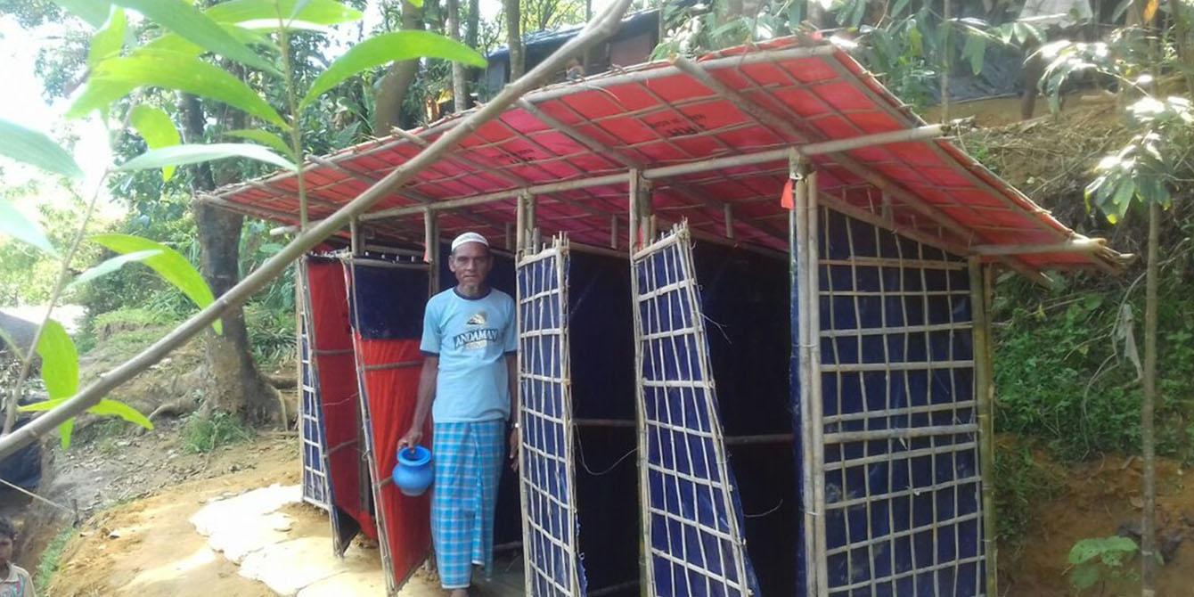 Oxfam in Asia - Bangladesh Rohingya Refugee Crisis - Latrine