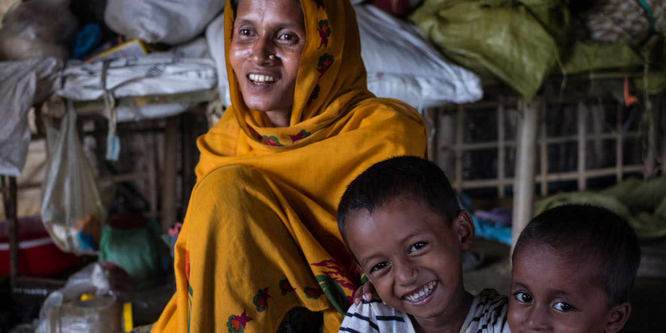 Oxfam in Asia - Bangladesh Rohingya Refugee Crisis - Women and Children