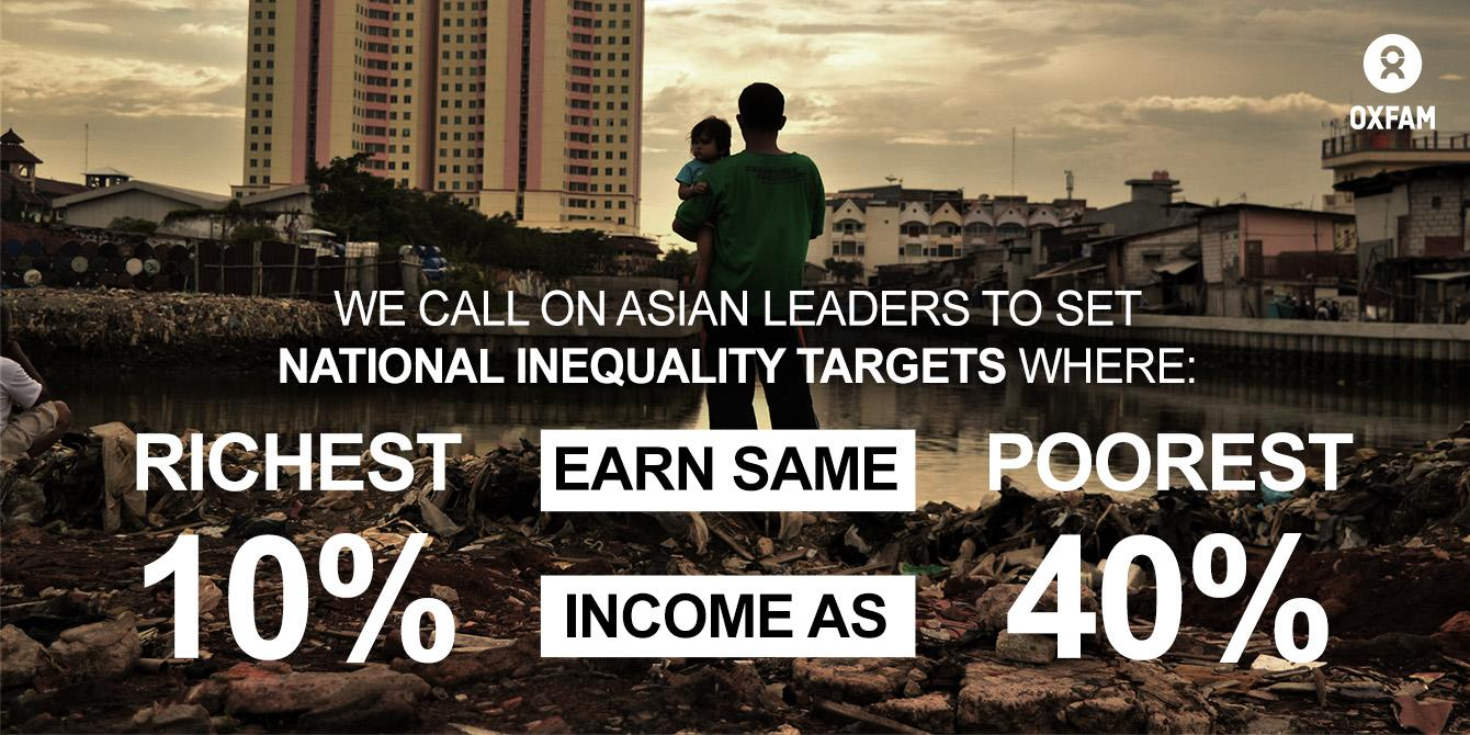 Oxfam in Asia - Inequality Campaign - Even It Up Asia