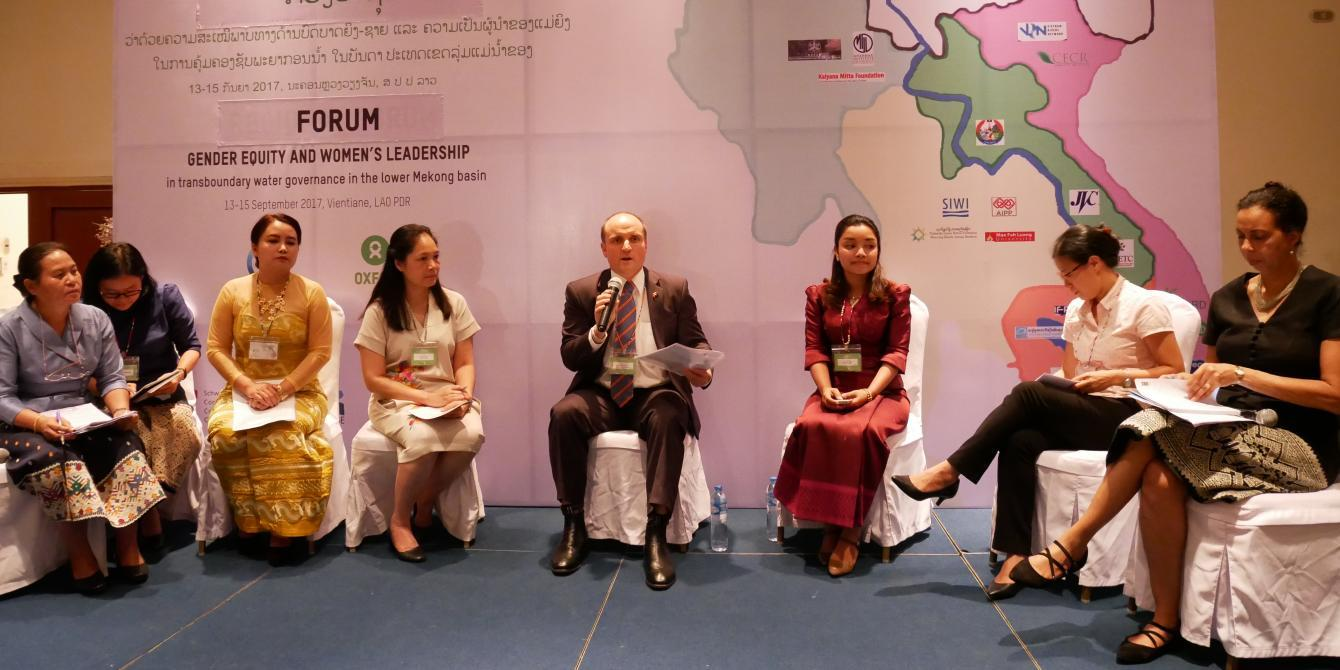 Oxfam in Asia - Water Governance - Regional Forum for Gender Equity and Women's Leadership in Water Resource Management of the Mekong