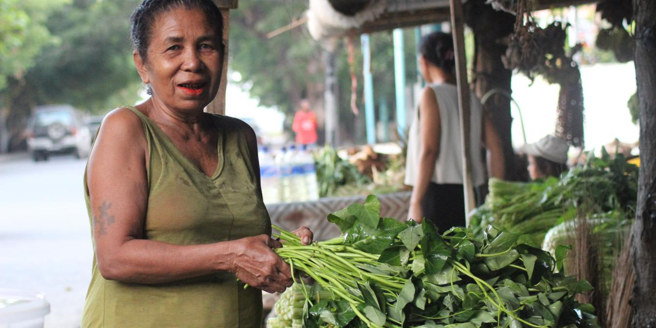 Women in Agriculture in Timor-Leste