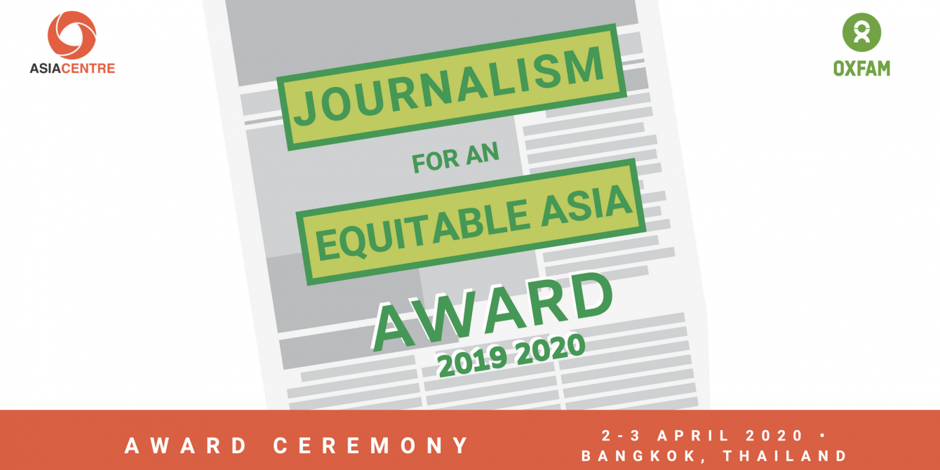 Journalism for an Equitable Asia Award 2020