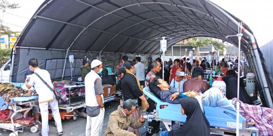 Oxfam in Asia - Press Release - Third earthquake hits Lombok Indonesia