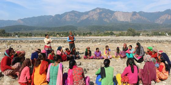 Oxfam Asia TROSA Water Governance