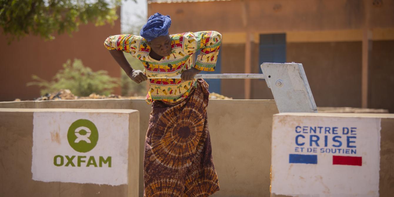 Forage réalisé à Yalgo,nord du Burkina Faso