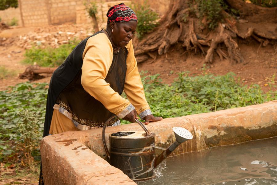 Oxfam soutien la production, la transformation et la commercialisation des produits agricoles