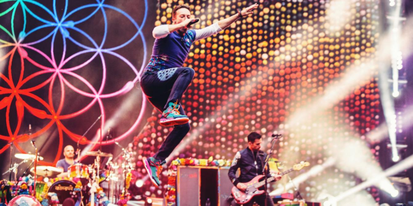 Coldplay in Singapore, April 1st