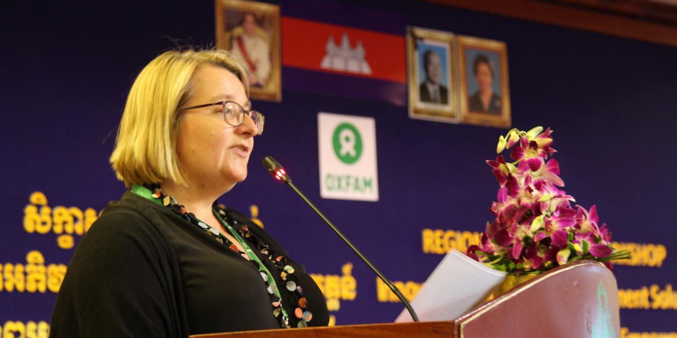 Closing speech by Sarah Knibbs, UN Women Representative