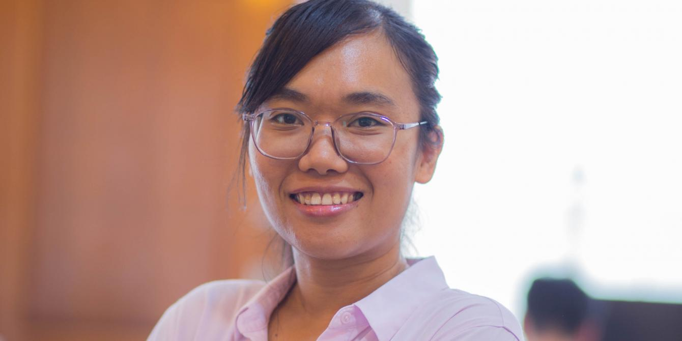 Ms Sovan Srun, Co-Founder and CEO of Edemy