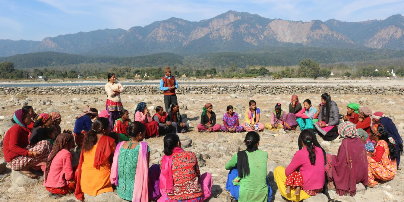 Formation of Women Empowerment Centre (WEC) in Baitadi district in Mahakali basin, Nepal, TRAUSA