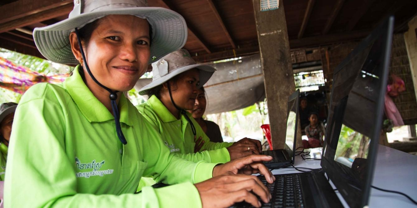 Bridging the digital divide in Cambodia