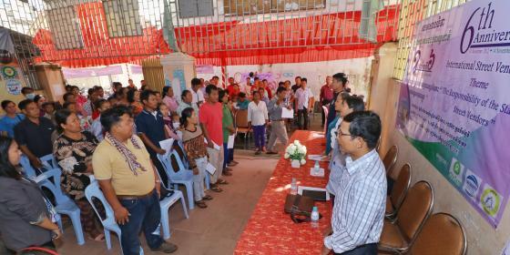 6th Celebration of International Street Vendors' Day