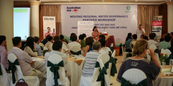 Partners Workshop organized by Oxfam's Mekong Water Governance Program