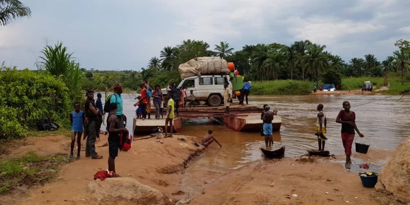 Arrival of Congolese people expelled from Angola. Scherazade Bouabid/Oxfam