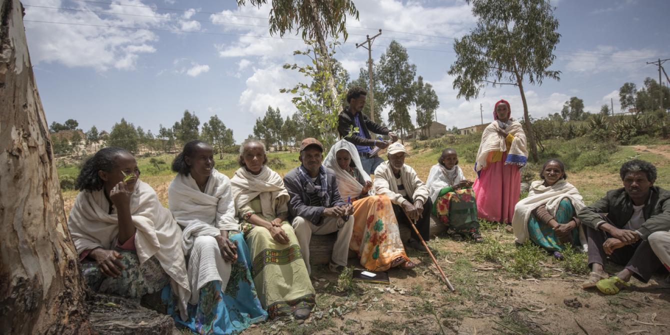 Ethiopia, Dedevit village, Tigray. Photo by Petterik Wiggers / Panos for Oxfam America