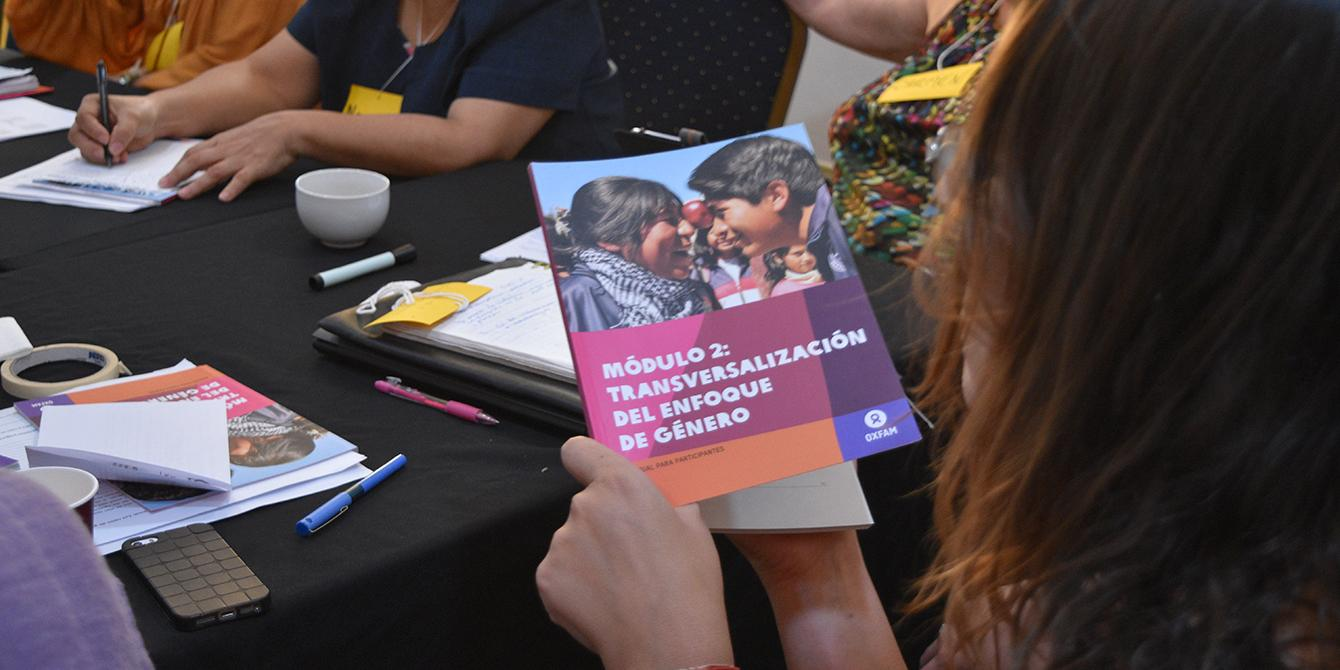 Queremos que las mujeres y niñas en situación de vulnerabilidad puedan ejercer sus derechos y vivir libres de violencia. Foto: Karen Arita / Oxfam en Honduras