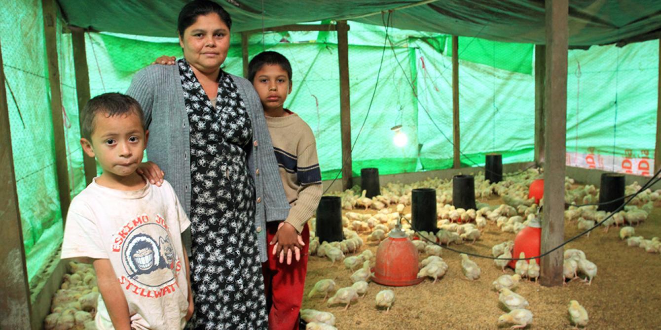 Oxfam trabaja arduamente para garantizar que el cumplimiento de los derechos de las mujeres estén en el centro de todos sus programas. Foto: Oxfam en Honduras