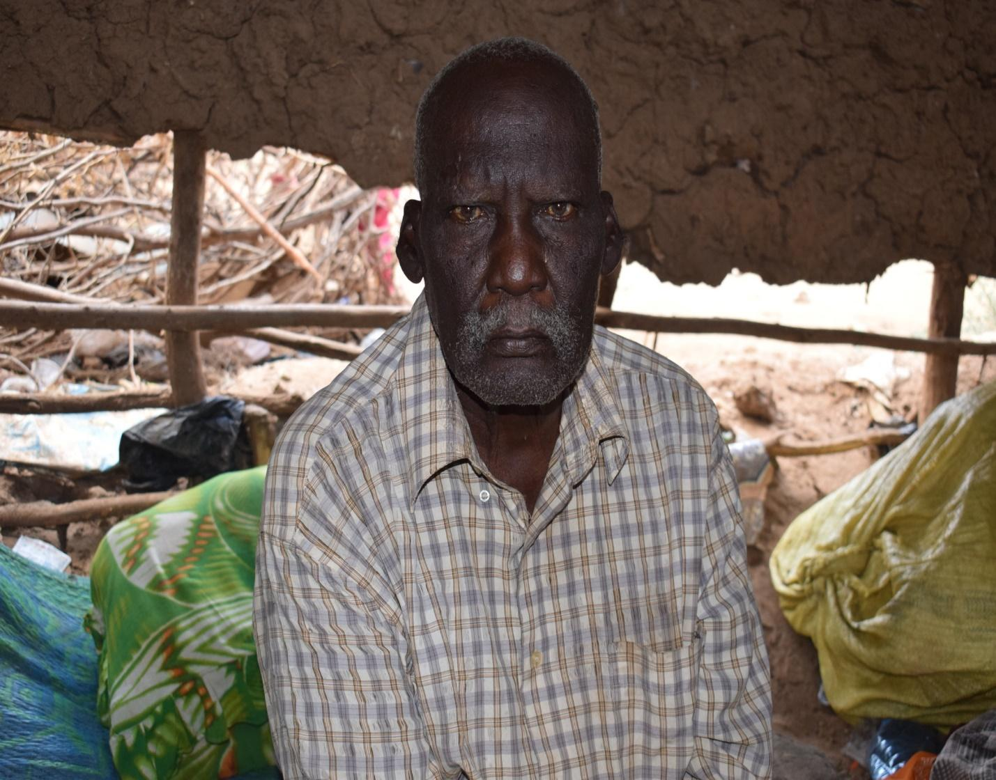 Mzee Yussuf Kufo Dadhe - Mororo, Tana River County | Photo by Shabin Barrow / ALDEF