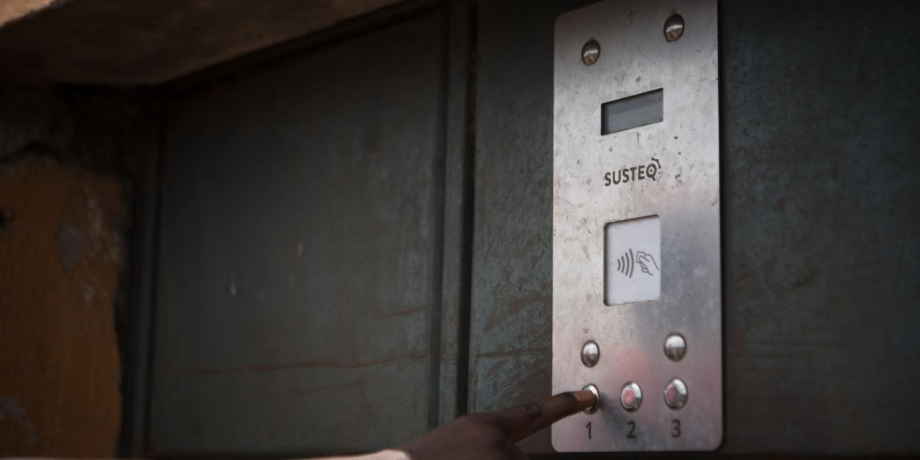 Water ATM in Kayole, Nairobi, Kenya, 2017. Photo Credit: Allan Gichigi