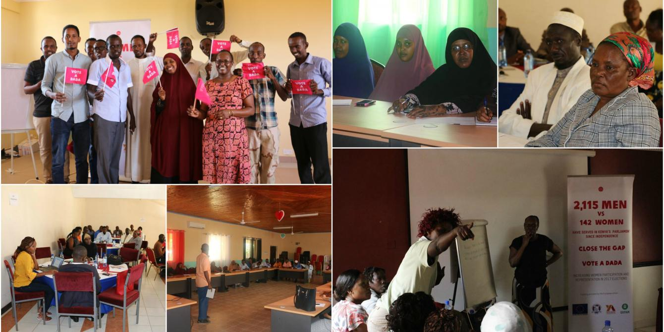 Opinion meetings in Wajir, Kisii, Nairobi, Nakuru and Turkana. Photo Credit: Oxfam