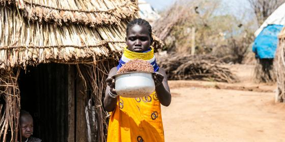Lucy Ikai, 22, Nabahaker village, Lokichogio Turkana, Kenya. Photo Credit:Joy Obuya