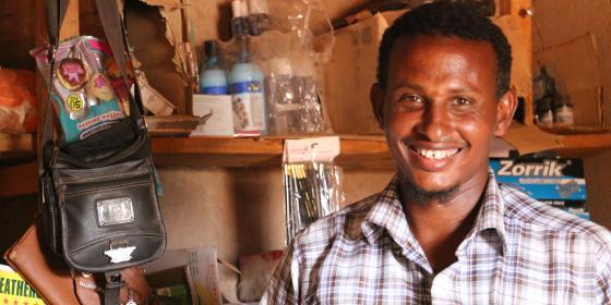 Adan Mohammed, Ajawa CDMC Chairman and Businessman. Photo Credit: Joyce Kabue/Oxfam