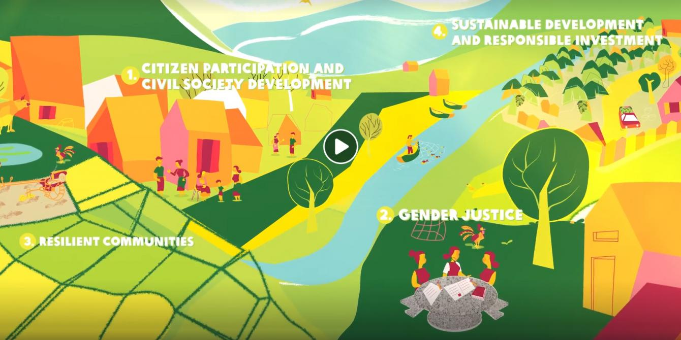 About Us - a general overview video of what Oxfam does in Laos
