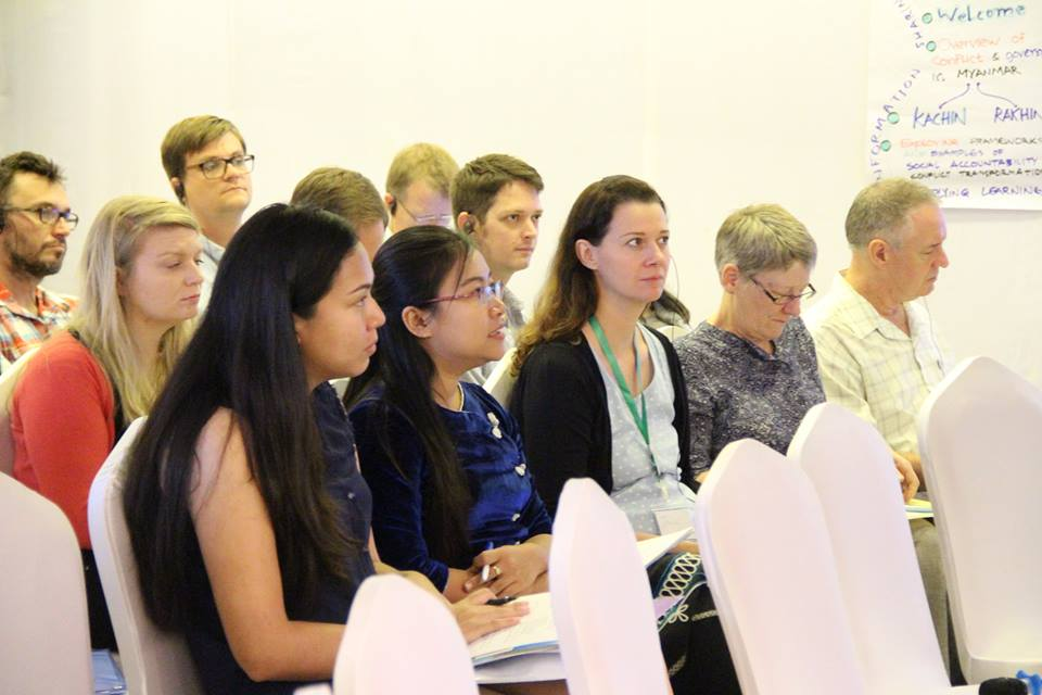 Participants in Social accountability in conflict settings - learning event