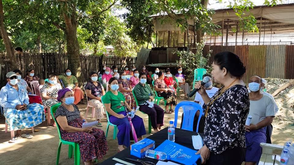 Daw Doi Bu meeting with community