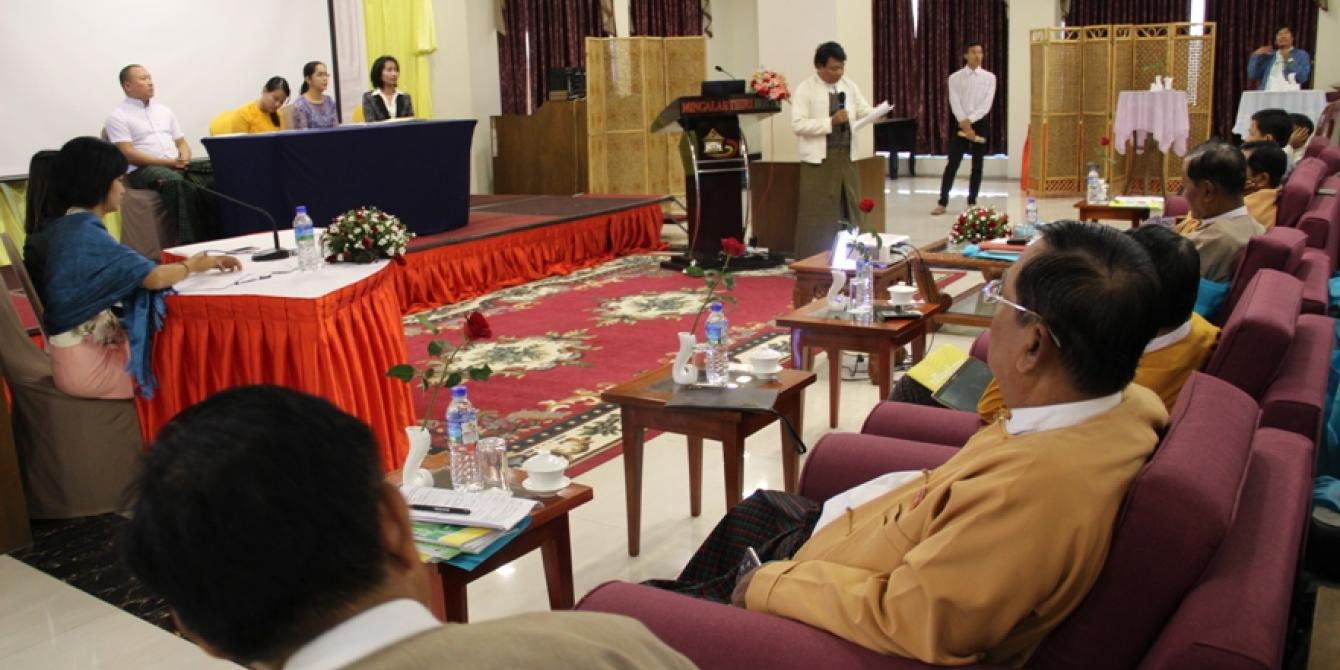 MPs asked to protect Myanmar's poorest farmers from the risks of large-scale agribusiness
