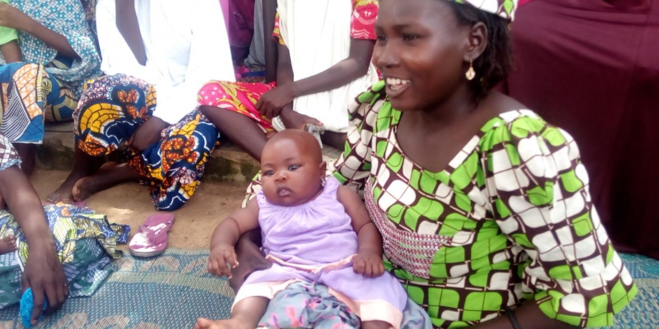 Sadiya Suwaida when she was three months old, Nahalo Village, Ningi