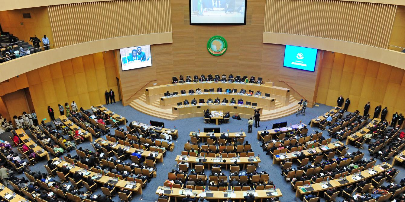 AU Summit in session