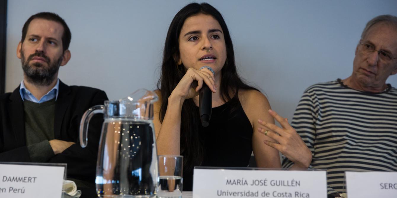 """""""Acaparamiento de tierras en América Central"""" / María José Guillén (Universidad de Costa Rica)."""