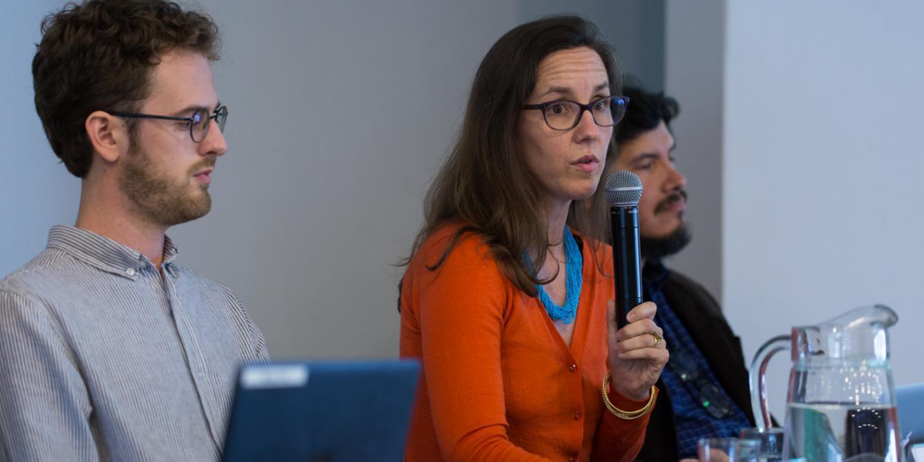"""""""El scorecard de sostenibilidad de empresas agroindustriales"""" / Annalise Romoser (Climate Advisers)."""