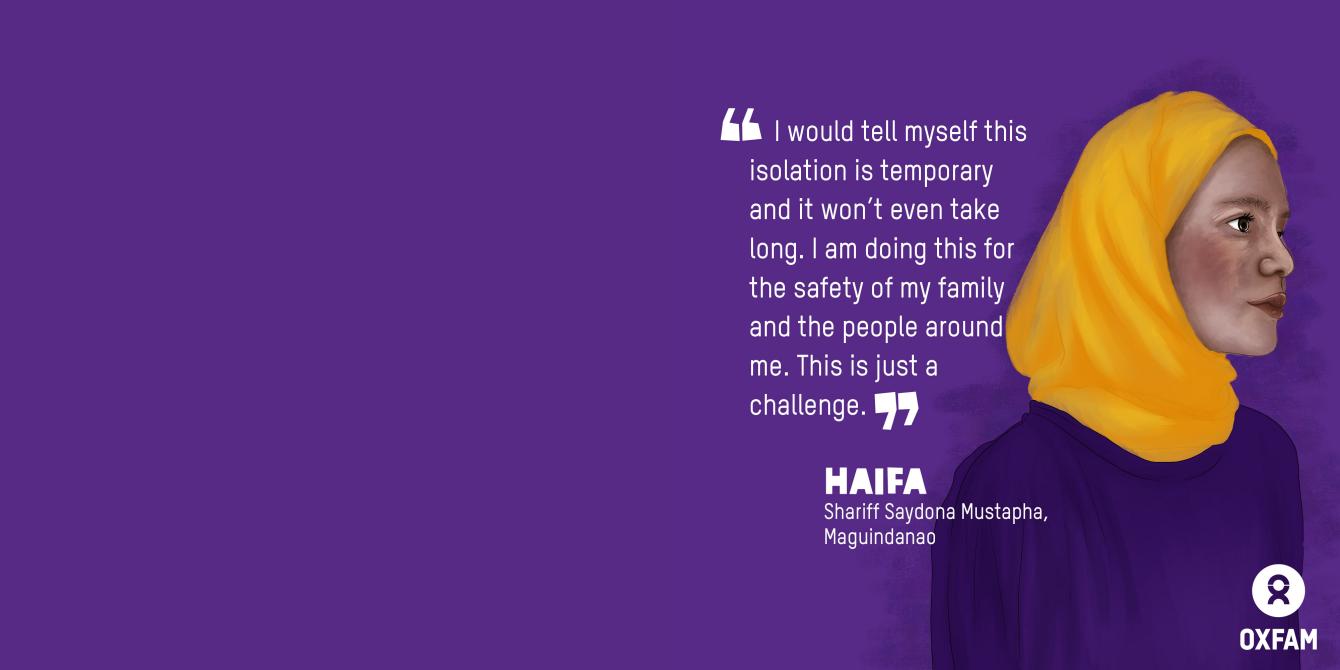 Haifa, HBCC Stigma Stories (Illustration: Vina Salazar/Oxfam)