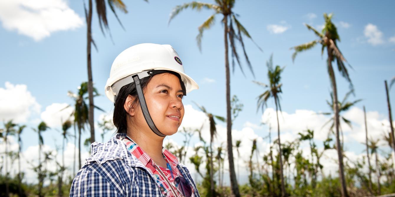 Arlene Arceo (29), Manager of Latufa Farmers' Association. (Photo: Eleanor Farmer/Oxfam)