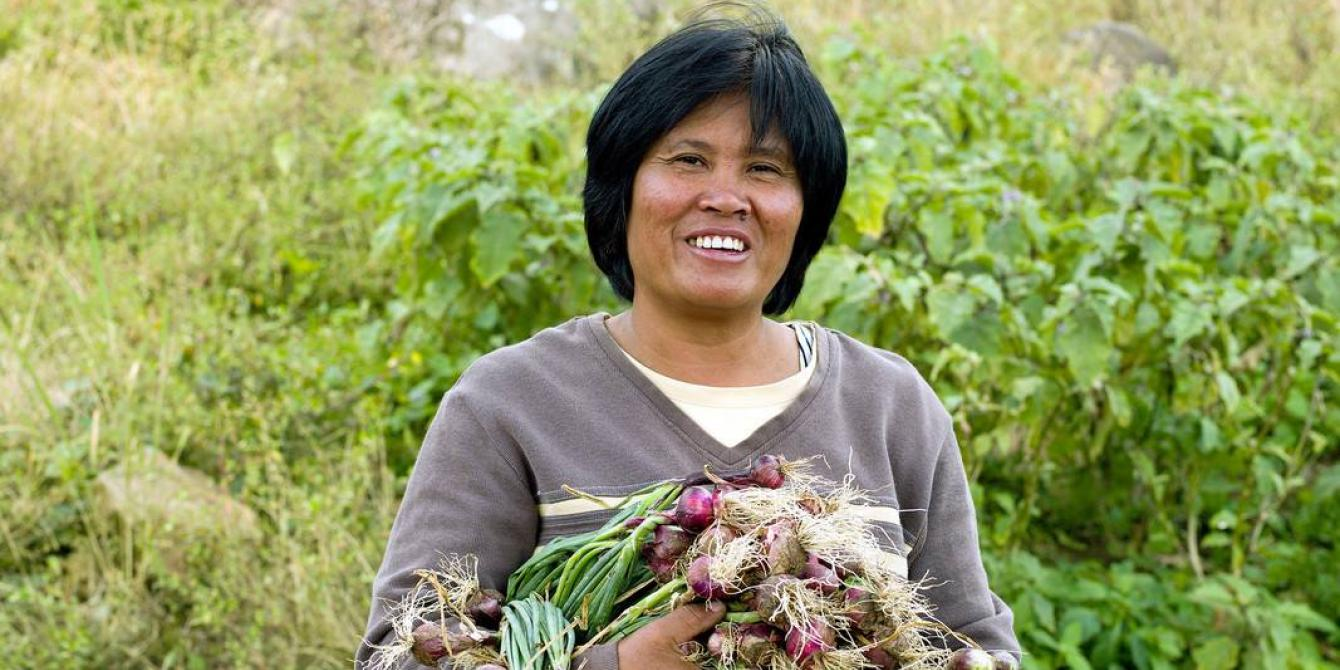 Josephine Alad-ad is a woman farmer from Sultan Kudarat, Mindanao