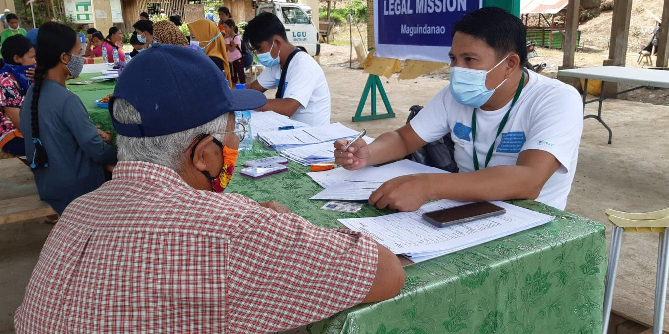 Oxfam Pilipinas and IDEALS conduct Legal Mission to South Upi