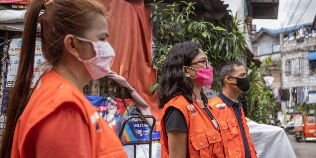 Members of DEPRIVE, a people's organization in Quezon City. (Photo: Vina Salazar/Oxfam)