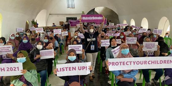 Girl Defenders (Photo: Linding Ko Kalombayan/AMDF)