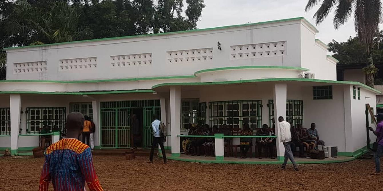 10 juillet 2019 - La maison de la société civile centrafricaine ouvre ses portes à Bangui. © Oxfam