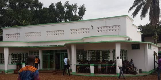 La maison de la société civile centrafricaine ouvre ses portes à Bangui. © Oxfam