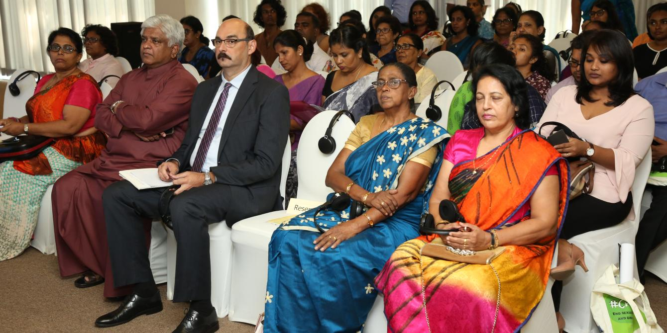 Audience at launch