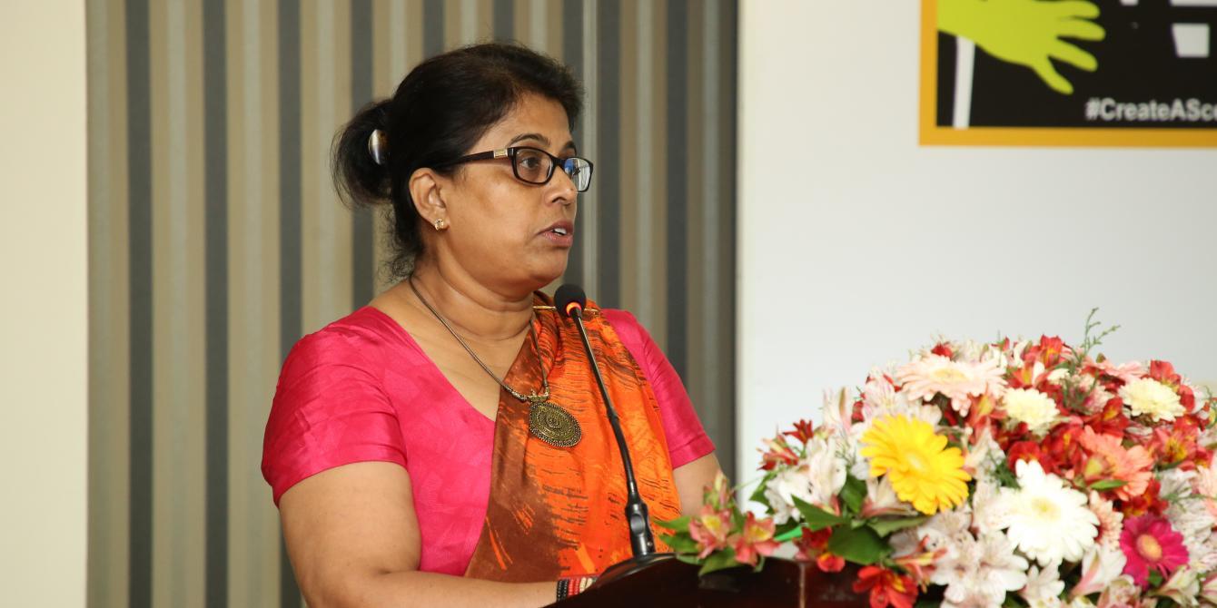 Keynote speaker, Mrs. Gayani de Alwis