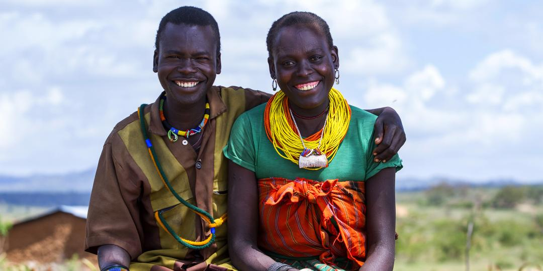 Ngoya Hellen and husband from Karamoja are working closely together to transform their family thanks to the Oxfam GALS methodology. photo credit: Julius Kasujja